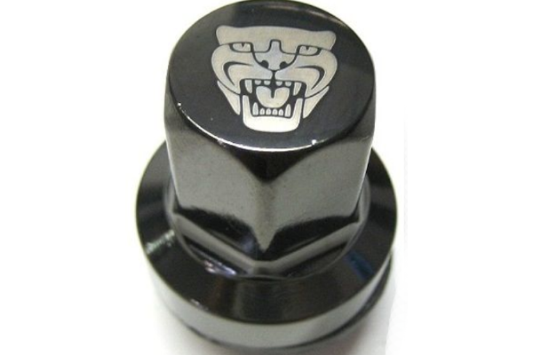 Jaguar Original Wheel Nuts with Growler Emblem